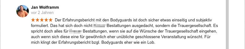 """Empfehlung - 2. Kommentar: Erklärung  """"Geschlossene Gesellschaft"""""""